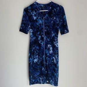 Marc New York floral midi dress size 2